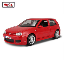 Maisto 1/24 VW Golf MK4 R32 Die cast Alloy Car Model Classic Car For Kids Toys Christmas Gift Collection Free Shipping