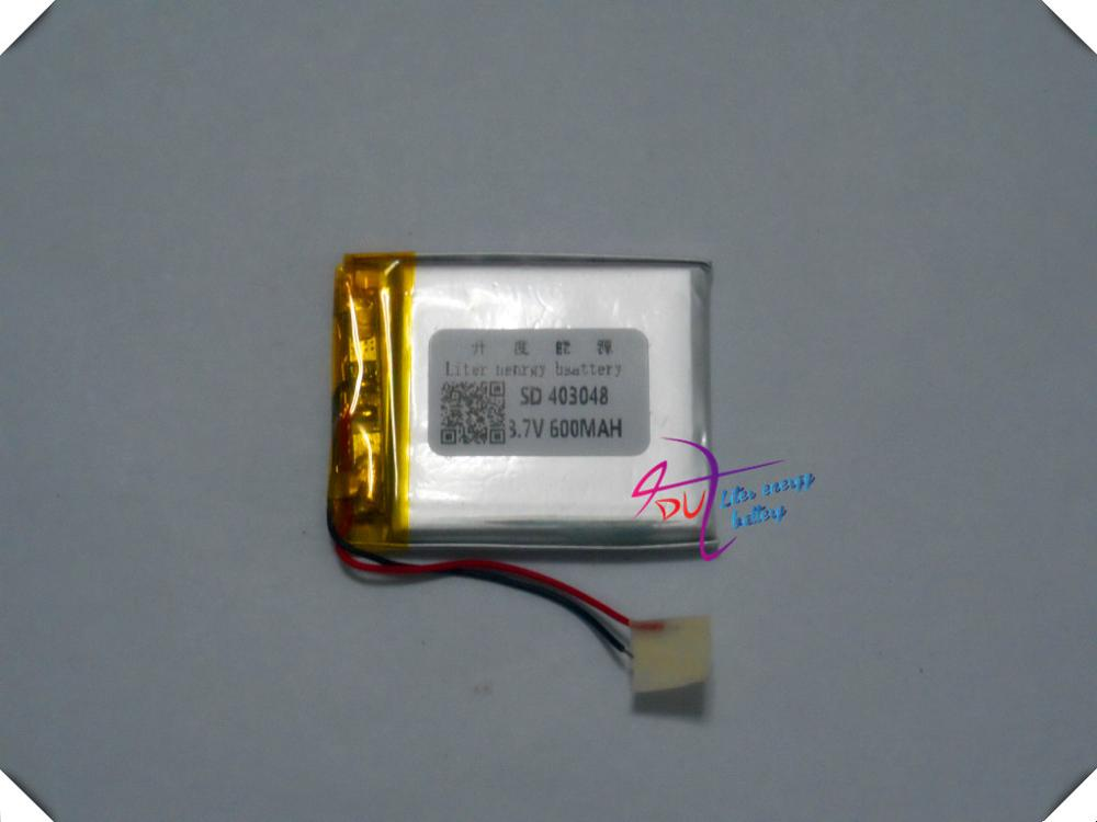 KXD043048PL 3.7V 600MAH lithium polymer battery<br><br>Aliexpress