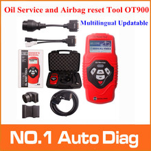 2015 Top Quality Oil Service and Airbag reset Tool OT900 Multilingual Updatable Code Reader OT 900 Free Shipping