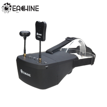 In Stock!! Eachine EV800D 5.8G 40CH 5 Inch 800*480 Video Headset HD DVR Diversity FPV Goggles With Battery For RC Model(China)