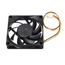 Hot Sale Computer Case Cooler 12V 7CM 70MM PC CPU Cooling Cooler Fan RL0009(China)