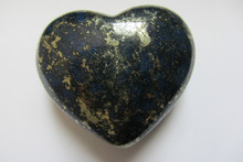 68.9g natural lapis lazuli heart hand carved stone carving gemstone healing