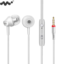 Heavy Bass In-ear Earphone with HD Mic Stereo Sound Quality Wired Earbuds Free Answer Control Earpiece for iphone Samsung Sony