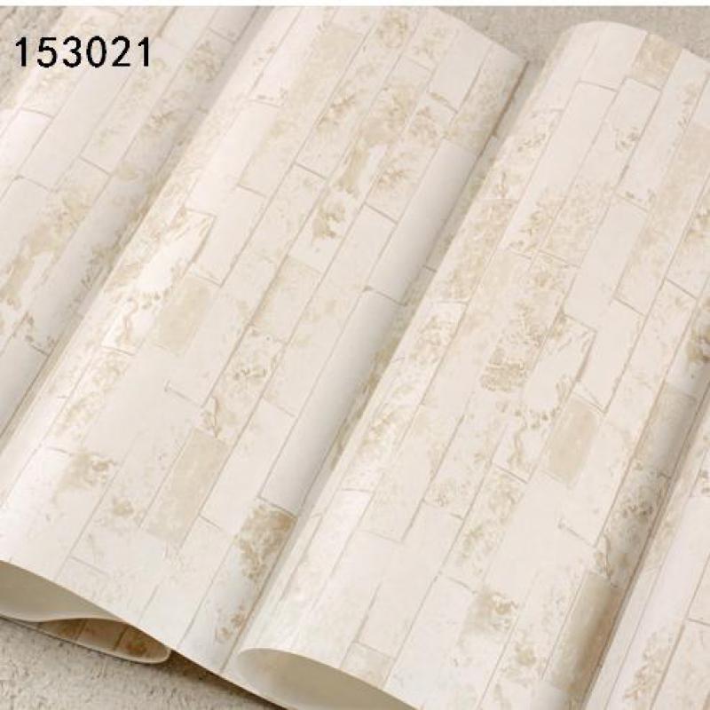 Pvc Beige Brick Wallpaper 3d Brick Pattern Living Room Wallpaper Soundproof Wallpaper Rolls Wall Papers Home Decor Landscape<br>