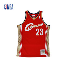Original NBA Jerseys NO.23 AUTHENTIC PlayerVersion Retro Jerseys Cleveland Cavaliers Lebron James Men's Jerseys(China)