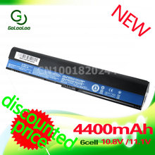 Golooloo 4400mAh Battery for Acer Aspire One 756 V5-171 725 TravelMate B113 B113M B113-M C7 C710 AL12X32 AL12A31 AL12B31 AL12B32