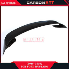 mustang spoilers Carbon Fiber auto parts Rear spoiler for ford mustang 2014-2016