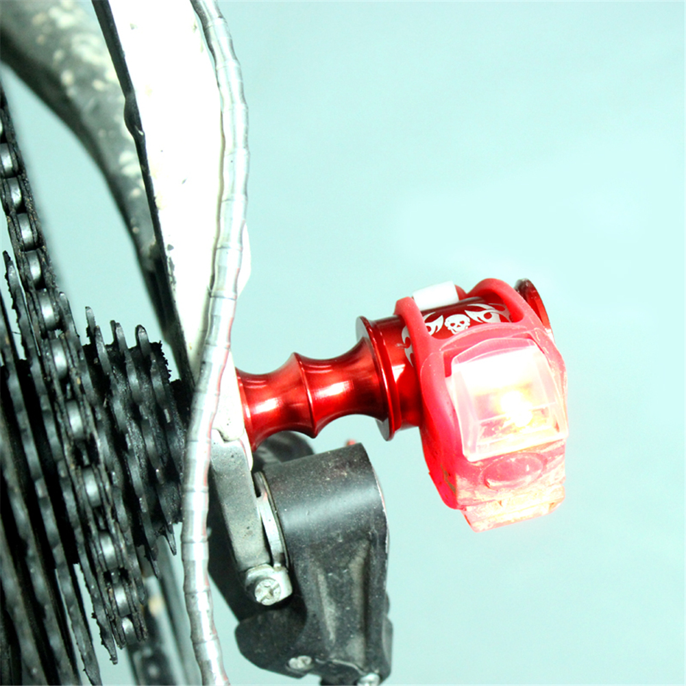Bicycle Bike Cycling Wheel Ball Quick Release Hub Adapter Front Lamp Holder