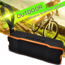 IPX6 waterproof Portable Bluetooth speaker Outdoors and family stereo wireless speaker for phone and laptops 4500mAh large power(China)