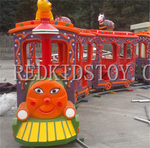 Exported to Russia Kid's Electric Train with Music 14 Seats Electric Playground HZ16-264a(China)