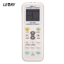 LEORY Hot Sale Universal Consumption 1028E Air Condition LCD A/C Muli 1028E Remote Control Low Power Wireless Controller