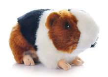 New Hamster Stuffed Animal 10*18cm Plush Toy Ornaments Kawaii Good Stuffed Guinea Pig Doll Soft Toys Kids Christmas Gifts