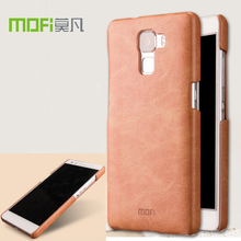 "Mofi for Huawei Honor 7 case leather brown case cover for Huawei Honor 7 5.2"" case accesories black protection original funda"