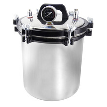 freeshipping 1kw power 8L water tank capacity steaming  Sterilizer  Stainless Steel High Pressure