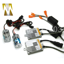 Buy 55W AC Xenon HID Ballast headlight kit 12V 4300K 6000K 8000K H1 H3 H7 H8 H9 H11 HB4 9005 9006 Auto headlight xenon lamp Kits for $41.99 in AliExpress store