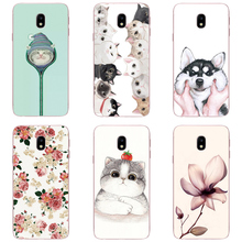 Case For Samsung Galaxy J3 J330 J5 J530 J7 J730 2017 Printing Drawing Case Mobile Phone Protective Back Cover Eurasia Edition(China)