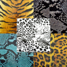 4 Sheets/lot Mix 4 Designs Colorful Leopard Tiger Water transfer Nail Art Stickers Decorations Tips DIY Salon Tips M75-76-86-87#