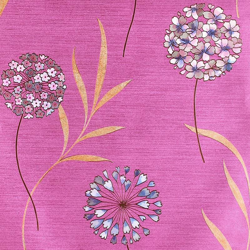 Modern Children Room Flower Wallpaper Kids Pvc Vinyl Pink 3d Flower Wallpaper 3d Wall Murals Wallpaper Kids Papel De Parede<br>