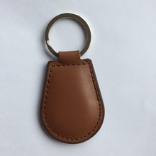 RFID Leather keyfobs tags TK4100 125Khz Proximity ID Token Tag Key Compatible for EM4100 -10pcs