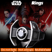 Buy BEIER Star Wars Spacecraft Boy Girl 316L Stainless Steel Unique Man's Cool Fashion Viking Movie Jewelry Ring BR8-260 for $3.49 in AliExpress store