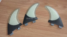 FCS G3  Surfboards Fins Carbon Fiber Fin quilhas de prancha de Surf Fin With Honeycomb And Carbon