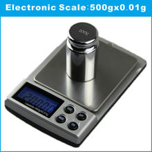Buy 500g X 0.01g Digital Scales Bijoux Sterling Silver Jewelry Scale 0.01 Pocket Stainless Steel Pan Electronic 2017 Limited for $10.94 in AliExpress store