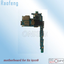 Raofeng Unlocked Motherboard For Samsung Galaxy s2 i9108 test one by one high quality Mainboard well worked Logic Board(China)