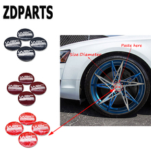 ZDPARTS 4X 56mm WRC Car Tire Wheel Center Hub Cap Cover Sticker Mercedes Benz W203 W204 211 AMG Smart Starline A93 Citroen