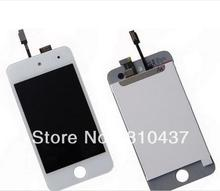 Generation LCD Screen and Digitizer Assembly Display Assembly  for ipod touch 4 - White