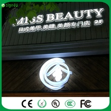 3D LED Letters whole-lit Hotel Advertising Business led light up letters Signs customized