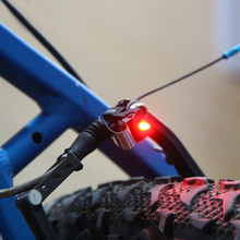 Bicycle V brake light road bicycle brake lamp folding bike brake lamp