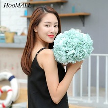 Hoomall 1Pcs Peony Silk Flowers For Home Decoration Fake Artificial Flowers For Wedding Market Decoration Bouquet(China)