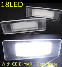 LED License plate light number plate lamp for Kia Cadenza Premium Optima 06-14 Optima Hybrid 11-12 K2 K3 K5 with CE E-Mark(China)