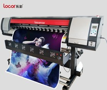 lecai hot sales one printhead inkjet printer/sublimation printer plotter with paper receiver(China)