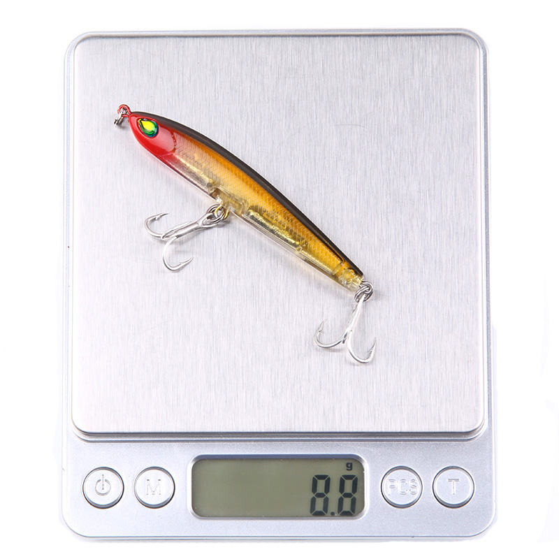 Minnow Pencil Fishing Lure Hard Bait 9