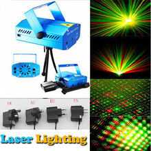Hight Quality Mini aluminium alloy LED Laser Pointer Disco Stage Light Party Pattern Lighting Projector Show laser projector(China)