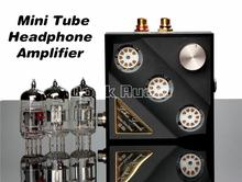Douk Audio Mini 12AT7+6N11 Vacumm & Valve Tube Headphone Amplifier Stereo Hi-Fi Earset Amp Inspired by Germany Earmax EMP EMS