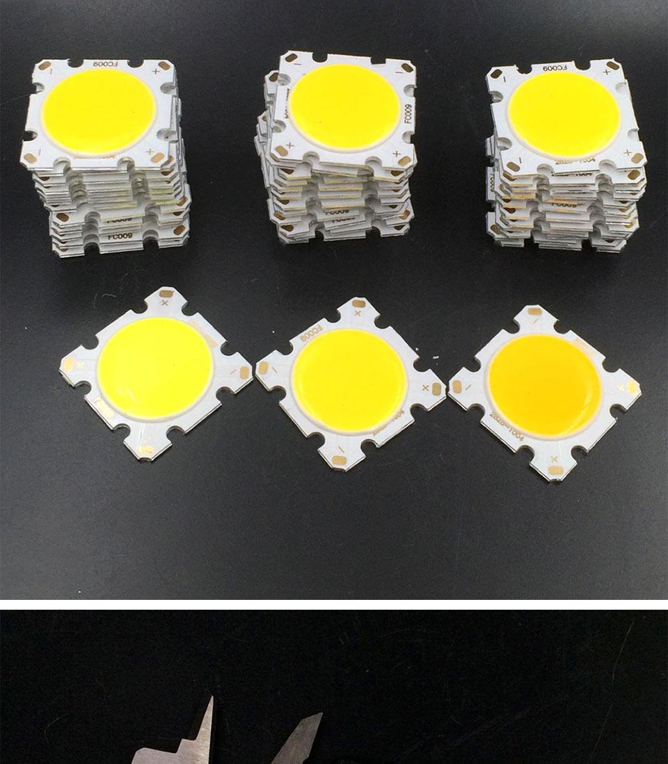 cob led 28mm square cob chip light bulb lamp 15W (4)