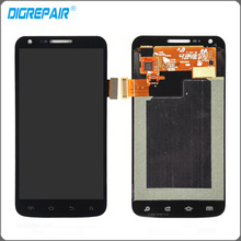 Black lcd For Samsung galaxy S2 Skyrocket i727 AT&T LCD Display touch screen with digitizer Full Assembly Parts Free shipping