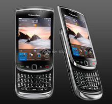 Original Blackberry 9800 Phone ,Bluetooth ,WIFI ,Touch Screen+QWERTY Keyboard refurbished Slider Cell Phone , Free Shipping
