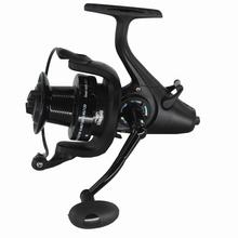 New Arrival 5.1:1 40/50 13ball bearings Baitrunner Reel Bait casting Spinning Fishing Reel For Sea Fishing(China)