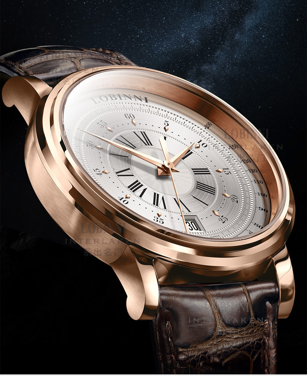 LOBINNI New Men Watches Top Luxury Brand Japan Import NH35A SII O Auto Mechanical MOVT Men's Clock Sapphire reloj hombre L1018-8 1