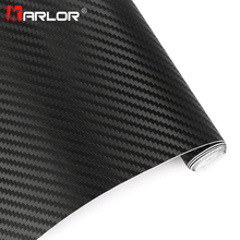 35x200cm 3D Carbon Fiber Vinyl Film Sheet Hydrograph Film Vinyl Motorcycle Car Stickers Water Proof Film Motocross Accessories(China)