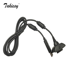 USB Charger Charge Charging Port Cable Adapter Adaptor for Wireless Xbox 360 Controller Wholesale, free shipping #160869
