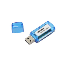 Memory Card Reader MINI USB 2.0 +OTG Micro SD/SDXC TF Card Reader Adapter U Disk  For Windows 98SE / Me / 2000 / XP / Vista / 7