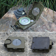 High Quality Professional Military Army Geology Compass Sighting Luminous Compass for Outdoor Hiking Camping outdoor HOT sale(China)