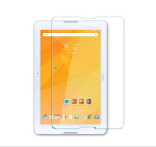 DOWER ME 9H Tempered Glass Screen Protector Film for Acer Iconia One 10 B3-A20 B3 A20 + Alcohol Cloth + Dust Absorber