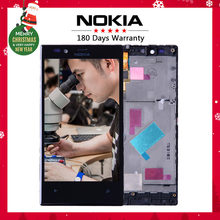 Original For Nokia Lumia 720 LCD Touch Screen with Frame For Nokia Lumia 720 Display Digitizer Assembly Replacement Parts N720