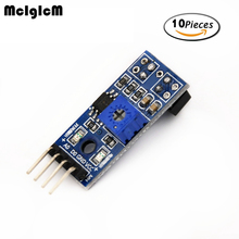 MCIGICM 10pcs TCRT5000 infrared reflectance sensor Obstacle avoidance module tracing sensor tracing module(China)