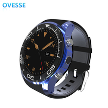 Customize Ultra Slim Android Smartwatch Phone 3G CDMA Cell Phone Watch Android 4.4 Smart Watch Phone With Google Play(China)